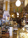 France grocery shop vintage style Stock Image