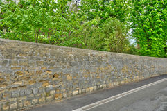 France, the Gros Murs street in Les Mureaux Royalty Free Stock Photos