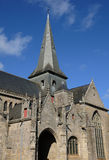 France, Guerande church Stock Image