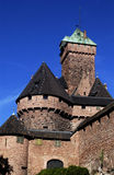 France, haut Koenigsbourg castle Royalty Free Stock Photography