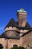 France, haut Koenigsbourg castle royalty free stock photography