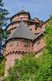 France; Haut Koenigsbourg castle in Bas Rhin Royalty Free Stock Image