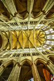 France, the historical cathedral of Beauvais in  Picardie Stock Photo