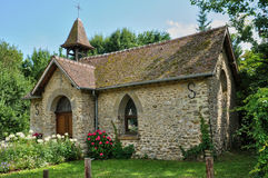 France, the historical chapel of Feucherolles Stock Photo