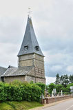 France, historical church of Bois Guilbert in Normandie Royalty Free Stock Photo