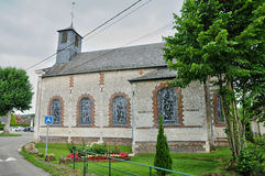 France, historical church of Elbeuf sur Andelle in Normandie Royalty Free Stock Images