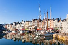 france honfleur Royaltyfria Bilder