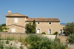 france hus provence Royaltyfria Foton