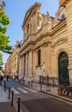 France, Ile de France, Paris, Sorbonne university. View of France, Ile de France, Paris, Sorbonne university royalty free stock photo