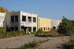 France, industrial wasteland in Les Mureaux Stock Photos