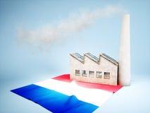 France industry development Royalty Free Stock Photo