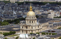 france invalidesles paris Royaltyfri Fotografi