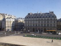 France and its beautiful buildings stock images