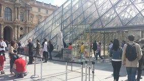 2007 france june louvre museum paris Στοκ εικόνες με δικαίωμα ελεύθερης χρήσης