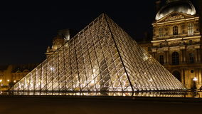 2007 france june louvre museum paris Στοκ Φωτογραφία