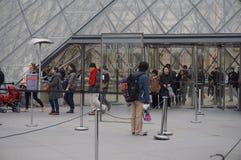 2007 france june louvre museum paris Στοκ Εικόνα