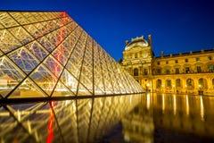 France 2007 June luwru muzeum Paryża Zdjęcia Stock
