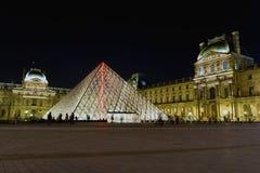 France 2007 June luwru muzeum Paryża Zdjęcia Royalty Free