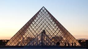 France 2007 June luwru muzeum Paryża obrazy royalty free