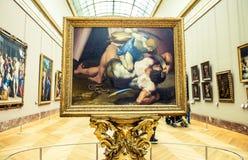 France 2007 June luwru muzeum Paryża zdjęcie stock