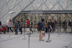 France 2007 June luwru muzeum Paryża obraz stock