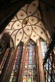France katedralna s Strasbourg skarbiec Fotografia Royalty Free