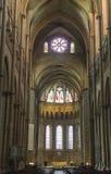france katedralny wnętrze Lyon Obraz Stock