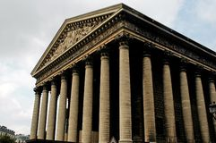 france la madeleine paris royaltyfria bilder
