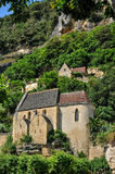 France, La Roque Gageac church in Perigord Stock Photo