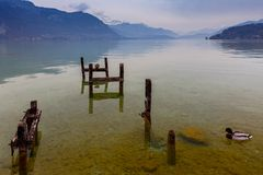 france Lago Annecy Immagine Stock