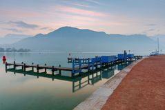 france Lago Annecy Fotografia Stock Libera da Diritti