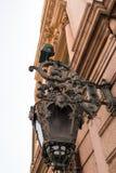 - france Lampion na fasadzie opera Zdjęcie Royalty Free