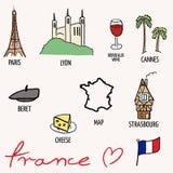 France landmarks Stock Images