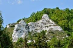 France,  landscape of Haute Isle in Val d Oise. France, picturesque landscape of Haute Isle in Val d Oise Stock Images