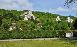 France,  landscape of Haute Isle in Val d Oise. France, picturesque landscape of Haute Isle in Val d Oise Stock Image