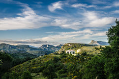 France, landscape in Provence Stock Image