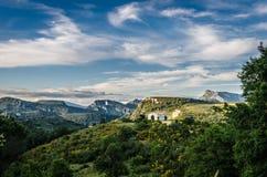 France, landscape in Provence Stock Image