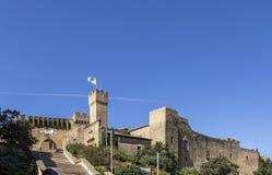 France, le Chateau de l Emperi in Salon de Provence. Under blue sky royalty free stock photos