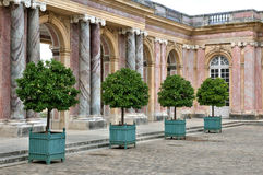 France, le Grand Trianon in Marie Antoinette estate Royalty Free Stock Photography