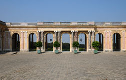 France, le Grand Trianon in Marie Antoinette estate Stock Photo