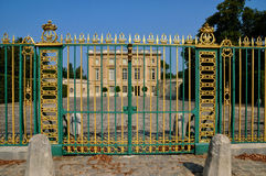 France, le Petit Trianon in Marie Antoinette Estate Stock Photography