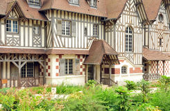 France, Les Buissons house in the city of Vernouillet Stock Image