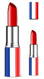 France lipsticks Royalty Free Stock Photography