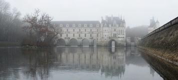 France. Loire Valley. View on Chenonceau castle Stock Image