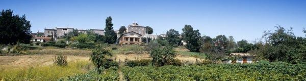 France lot bastide. Town of castelnau-montratier royalty free stock images