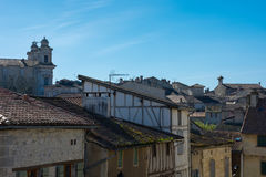 France, Lot et garonne, the old Nérac. Royalty Free Stock Photo