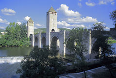 France lot river lot cahors Royalty Free Stock Photography