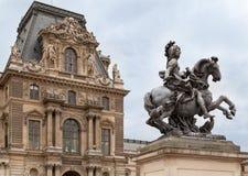 france louvre muzeum Paris Zdjęcia Stock