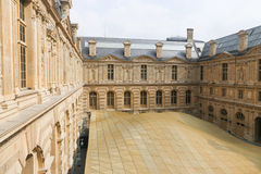 france louvre muzeum Paris Zdjęcie Royalty Free