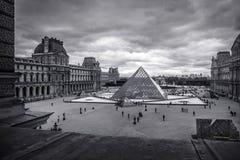 france louvre Paris Obrazy Royalty Free